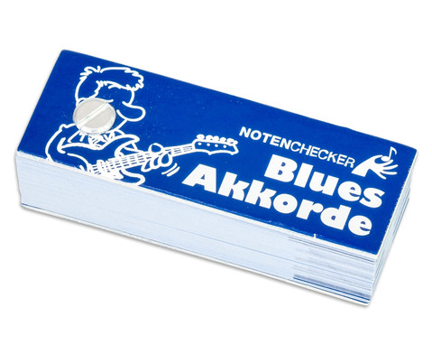 Notenchecker Blues Akkorde fuer Gitarre-1