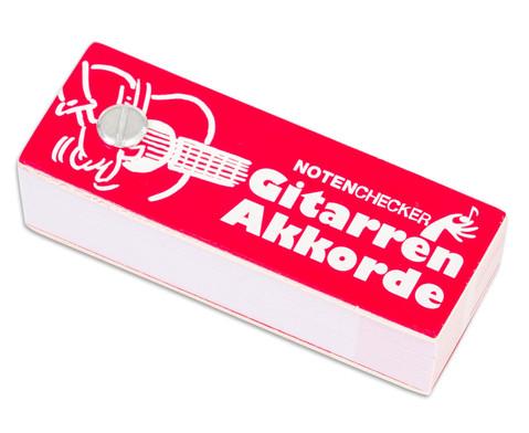 Notenchecker Gitarren Akkorde-1