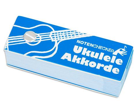 Notenchecker Ukulele Akkorde-1