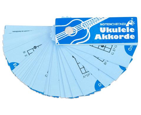 Notenchecker Ukulele Akkorde-3