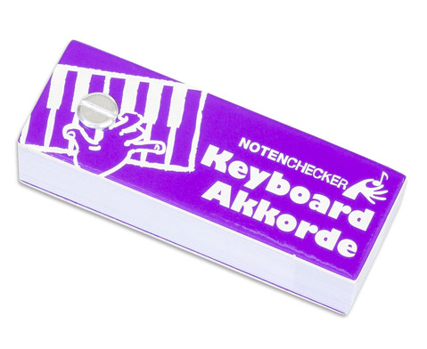 Notenchecker Keyboard Akkorde-1