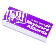 Notenchecker Keyboard Akkorde