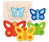 Schichtenpuzzle Schmetterling ll
