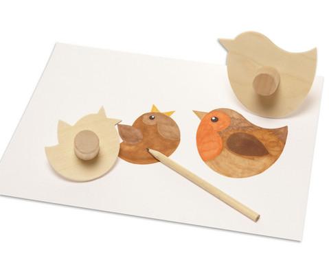Holzschablonen Haustiere 8 Stueck-5