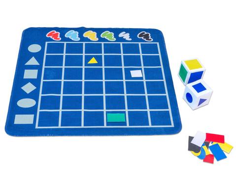 Spielteppich  Formen sortieren