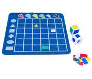 Spielteppich – Formen sortieren