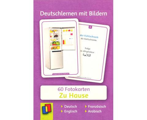 60 Fotokarten Zu Hause - Deutschlernen mit Bildern-1