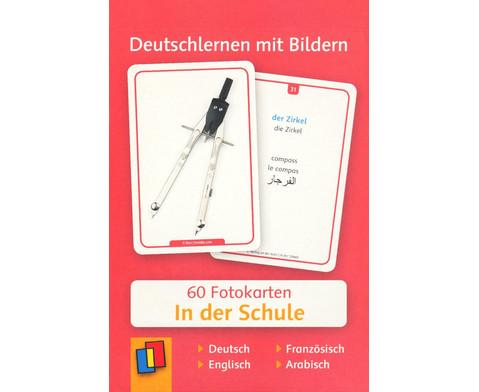 60 Fotokarten In der Schule - Deutschlernen mit Bildern-1