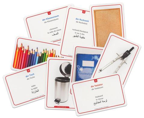 60 Fotokarten In der Schule - Deutschlernen mit Bildern-4