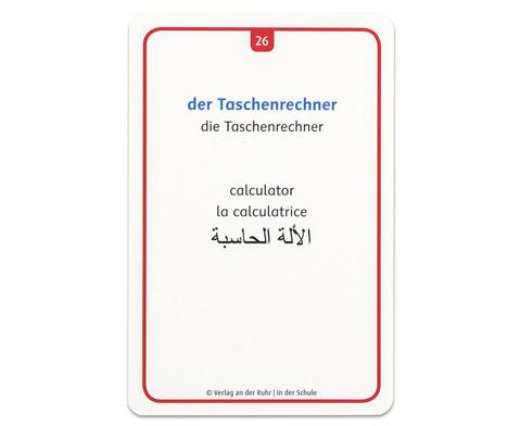 60 Fotokarten In der Schule - Deutschlernen mit Bildern-5