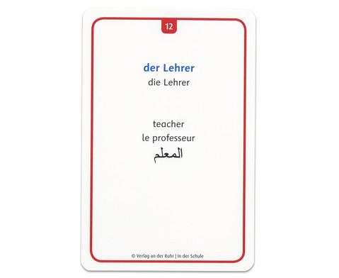 60 Fotokarten In der Schule - Deutschlernen mit Bildern-9