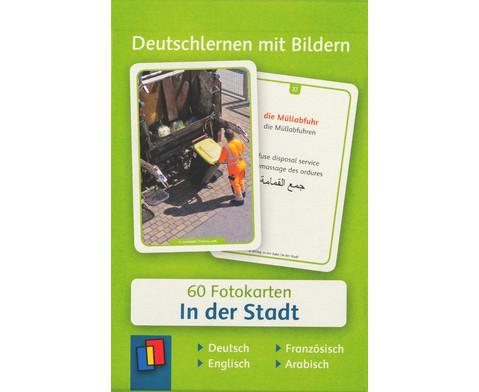 60 Fotokarten In der Stadt - Deutschlernen mit Bildern-1