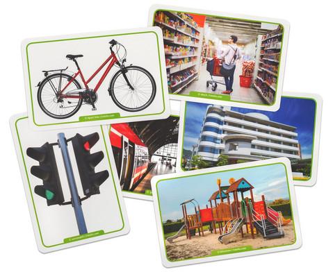 60 Fotokarten In der Stadt - Deutschlernen mit Bildern-3