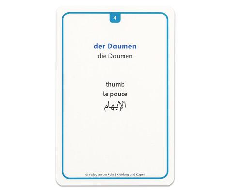 60 Fotokarten Kleidung und Koerper - Deutschlernen mit Bildern-5