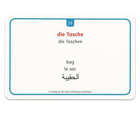 60 Fotokarten Kleidung und Koerper - Deutschlernen mit Bildern-7