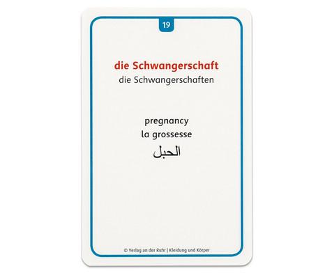 60 Fotokarten Kleidung und Koerper - Deutschlernen mit Bildern-11