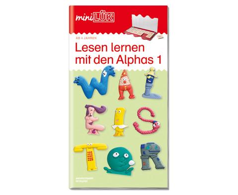 miniLUEK - Lesen lernen mit den Alphas-1
