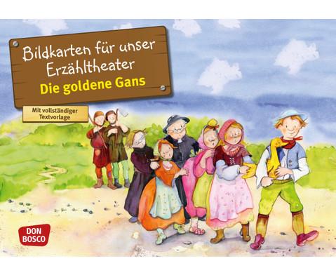 Bildkarten Die goldene Gans-1