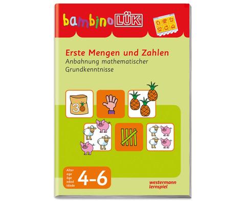 bambinoLUEK - Erste Mengen und Zahlen-1