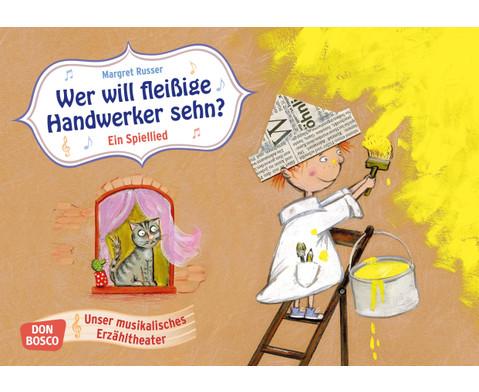 Bildkarten Wer will fleissige Handwerker sehen