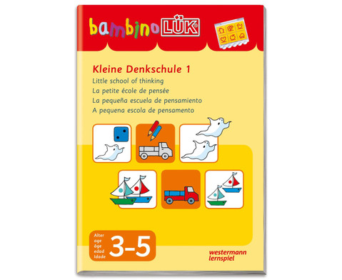 bambinoLUEK - Die kleine Denkschule 1-1