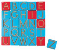 Schreibspuren - Buchstabenkärtchen