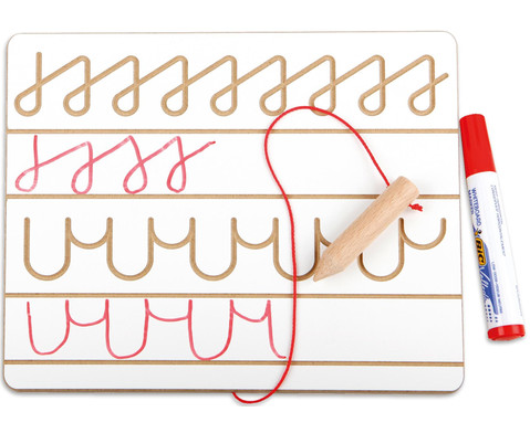 Schreibtafel mit Schwunguebungen-2