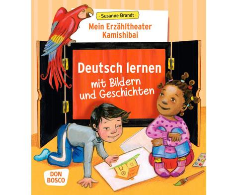 Kamishibai Erzaehltheater Deutsch lernen mit Bildern und Geschichten-1