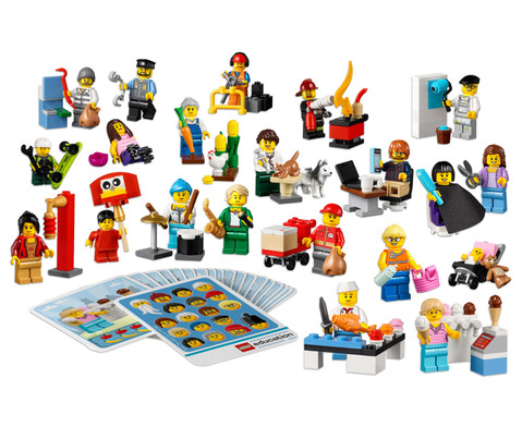 LEGO  Education Minifiguren-Set Gemeinschaft-1