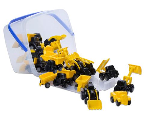 Mini Baustellenfahrzeuge 20 Stueck