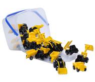 Mini Baustellenfahrzeuge, 20 Stück