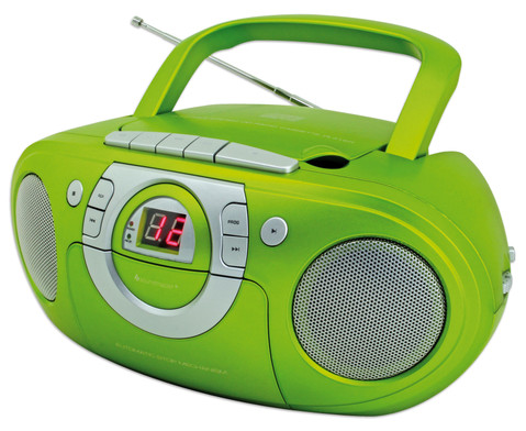 CD Boombox SCD5100  gruen-1