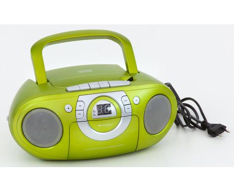 CD Boombox SCD5100  gruen-5