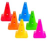 Spielkegel Regenbogen-Set, 6 Stück