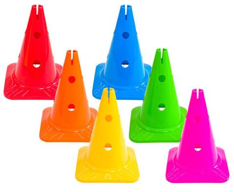 Spielkegel Regenbogenset 6 Stueck-1