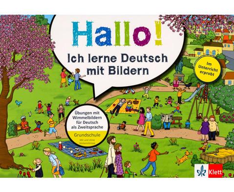 Hallo Ich lerne Deutsch mit Bildern-1