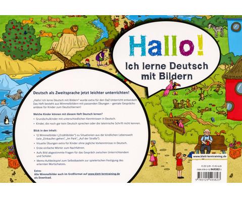 Hallo Ich lerne Deutsch mit Bildern-2