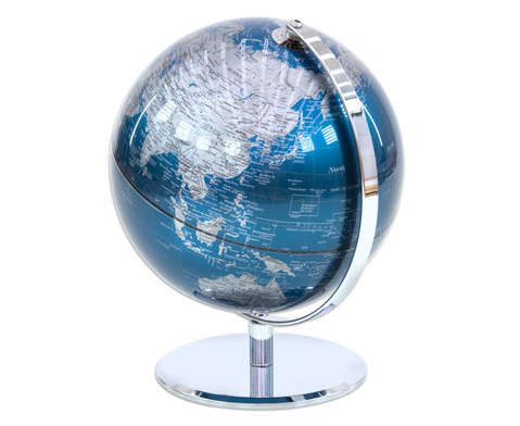 Globus Blueplanet Hoehe 30 cm Durchmesser 24 cm-2