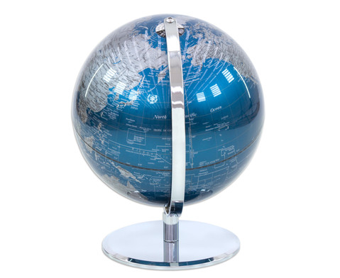 Globus Blueplanet Hoehe 30 cm Durchmesser 24 cm-4