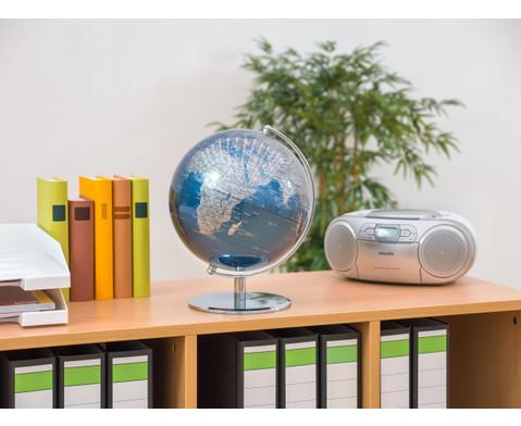 Globus Blueplanet Hoehe 30 cm Durchmesser 24 cm-5