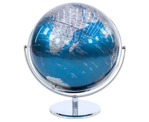 Globus Juri blue Hoehe 36 cm Durchmesser 30 cm