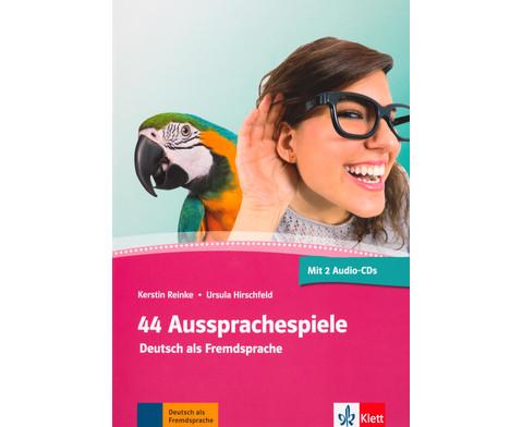 44 Aussprachespiele - Deutsch als Fremdsprache