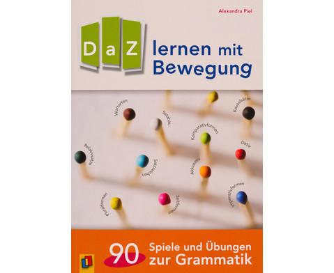 DaZ lernen mit Bewegung - 90 Spiele und UEbungen zur Grammatik-1