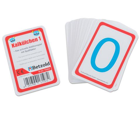 Rechenkarten Kalkuelchen 1-2