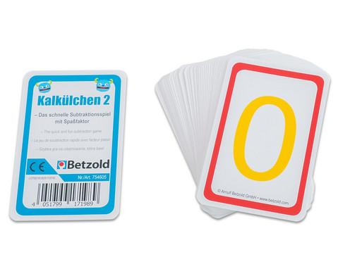 Rechenkarten Kalkuelchen 2-2