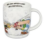 Kaffeebecher Asterix …aber wir lieben