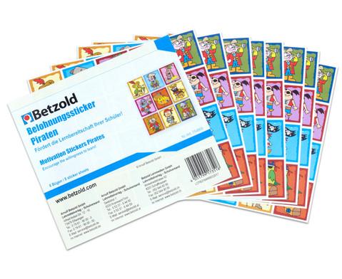 Belohnungssticker 8 Bogen-8