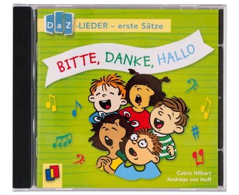 Bitte Danke Hallo DaZ-Lieder - erste Saetze-1