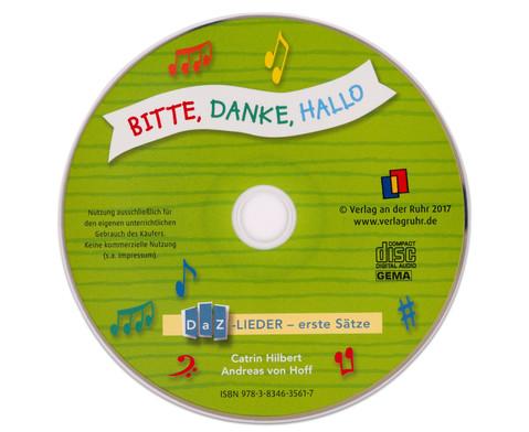 Bitte Danke Hallo DaZ-Lieder - erste Saetze-2