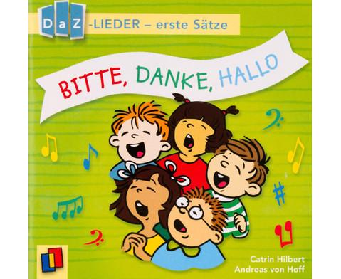 Bitte Danke Hallo DaZ-Lieder - erste Saetze-3